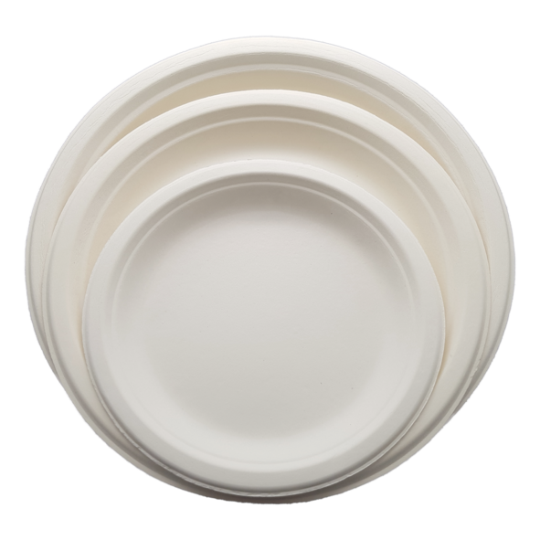 HENGDA Disposable Tableware Biodegradable and Compostable Sugarcane Bagasse Plate Bagasse Plate/Tray image6