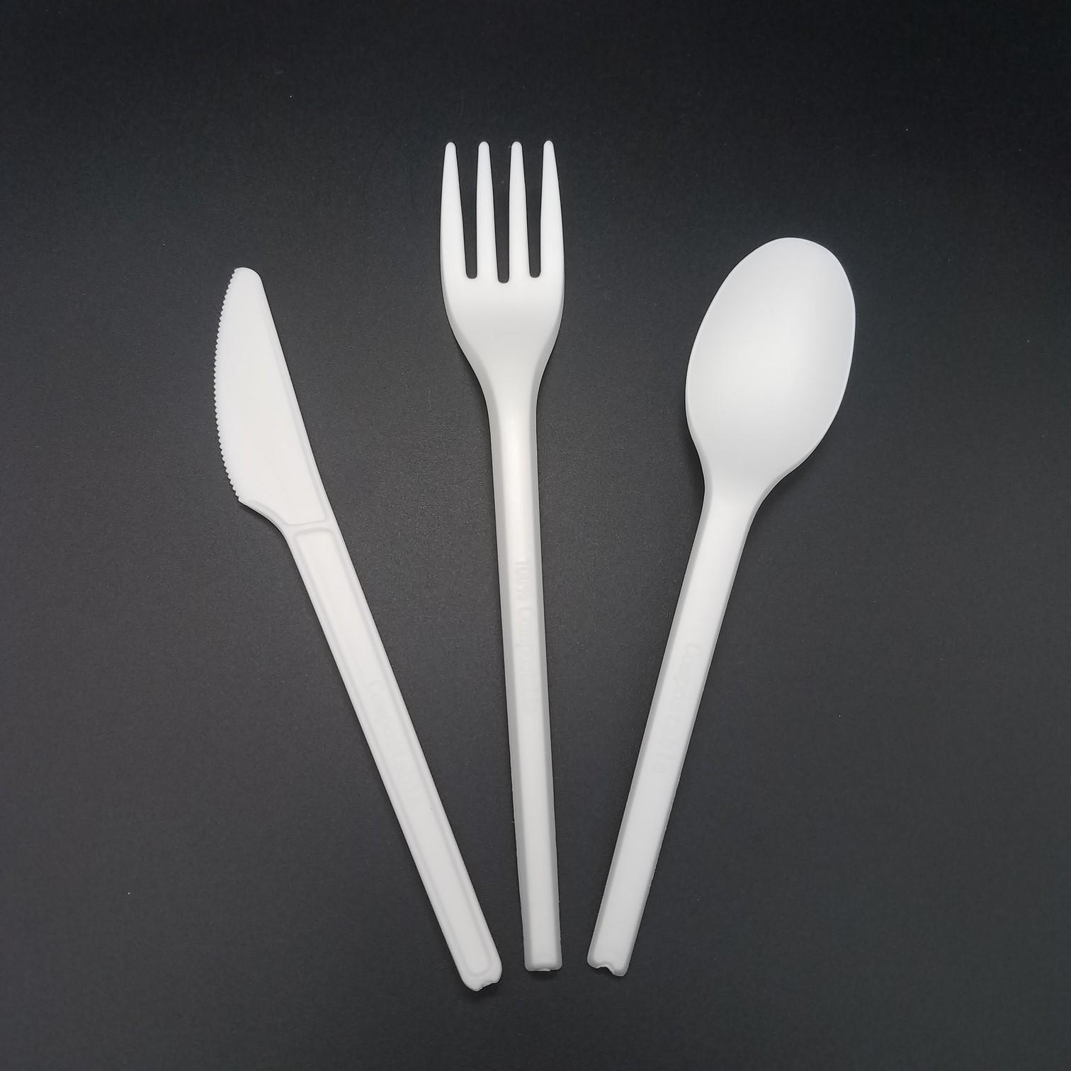 disposable wedding 100% food grade biodegradable cutlery compostable HENGDA Disposable Tableware