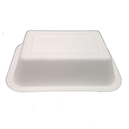 wedding sugarcane eco friendly disposable plates for wedding natural hinged HENGDA Disposable Tableware Brand