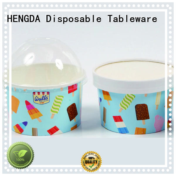 green for wholesale HENGDA Disposable Tableware Brand pink paper bowls
