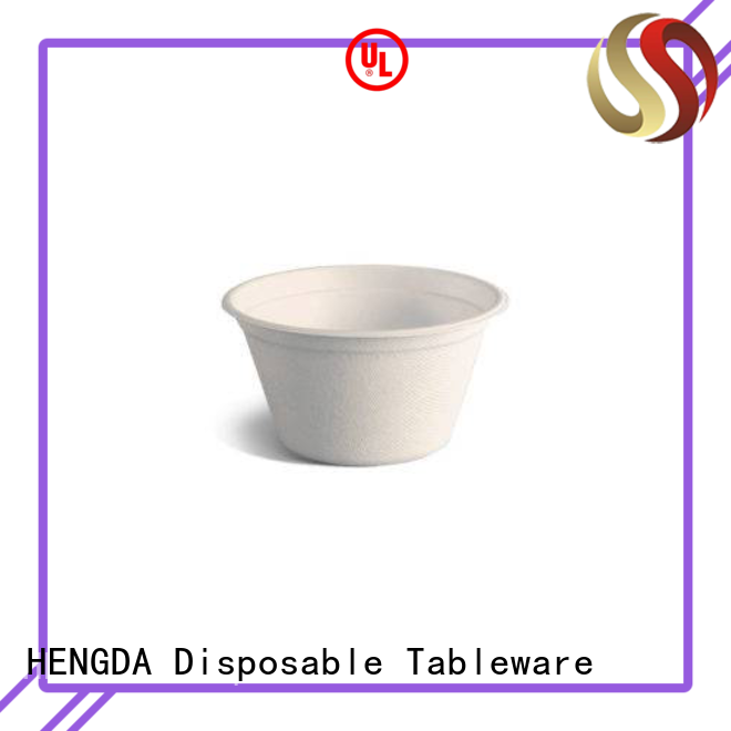 HENGDA Disposable Tableware compostable biodegradable hot cups contain no additives for Espresso