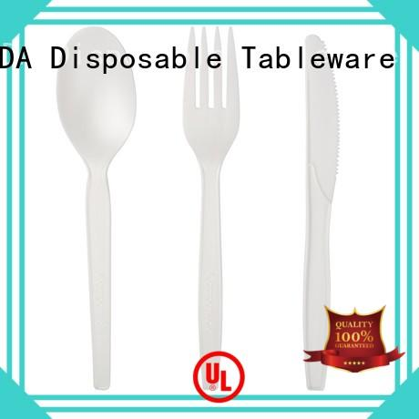 100% Food Grade, Biodegradable and Compostable CPLA Cutlery