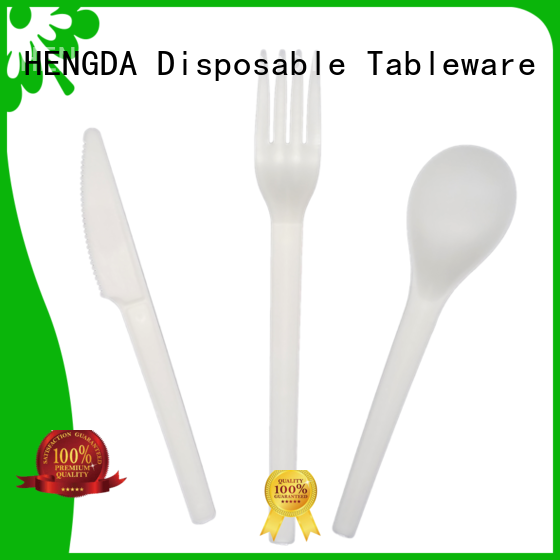 biodegradable compostable utensils free quote for canteen HENGDA Disposable Tableware