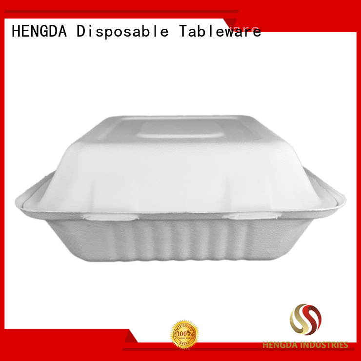 HENGDA Disposable Tableware Brand compostable wedding compostable bowls green factory