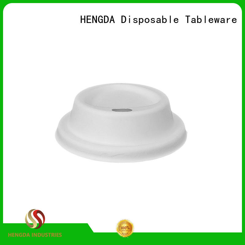 compostable bagasse lid supplier for food
