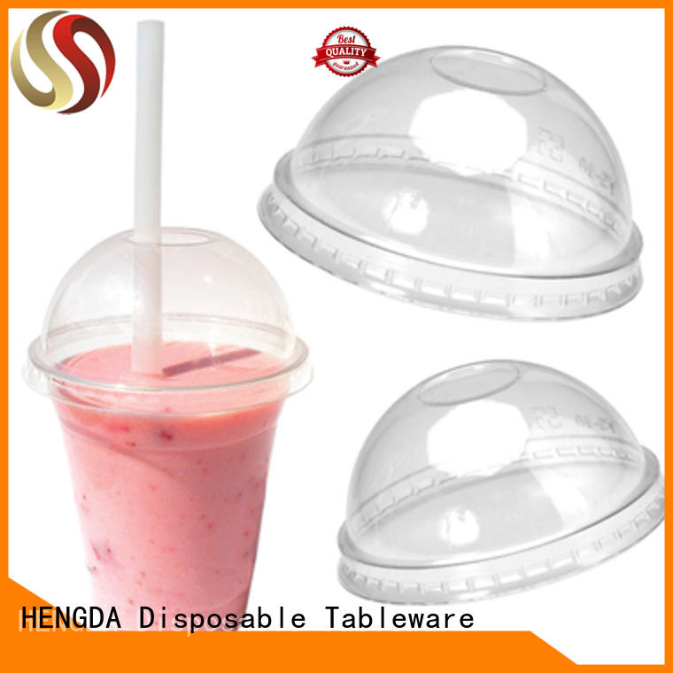 HENGDA Disposable Tableware Brand champagne ps white plastic plates and cups manufacture