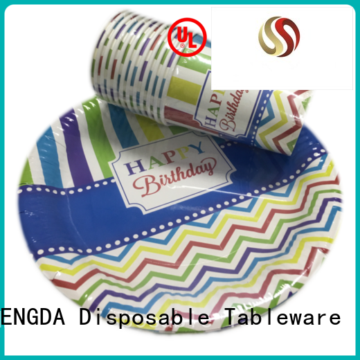 food wedding plates disposable paper plates HENGDA Disposable Tableware