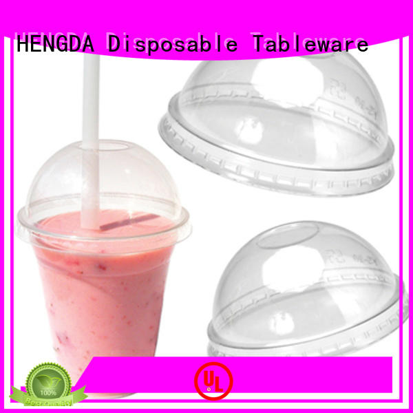 wholesale plates and cups lids colorful plastic plates and cups disposable HENGDA Disposable Tableware Brand