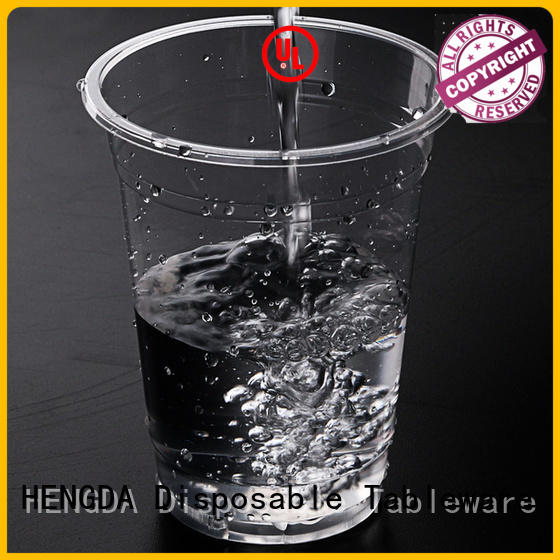 wholesale plates and cups plastic pp HENGDA Disposable Tableware Brand