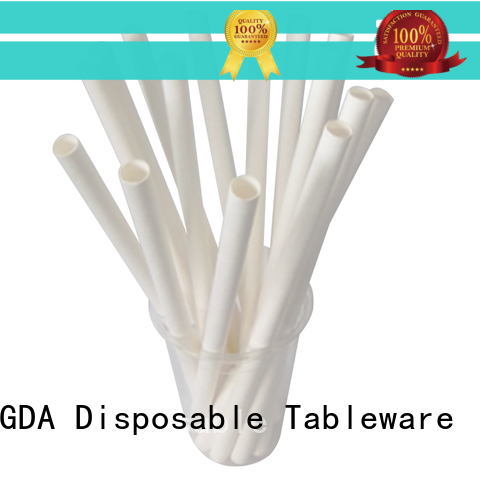 HENGDA Disposable Tableware cost effective paper straws from China for food festival