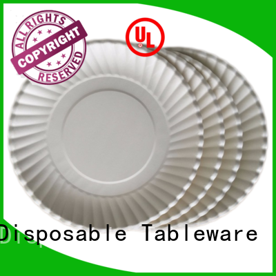 HENGDA Disposable Tableware affordable good quality paper plates with cheap price for food