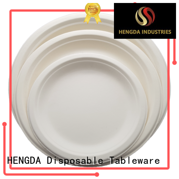 first-rate biodegradable paper plates compostable with good price for snack
