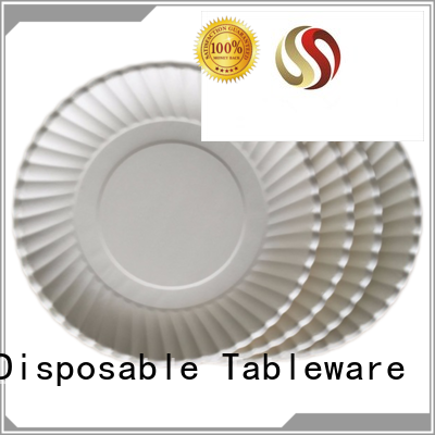 Wholesale fancy disposable paper plates HENGDA Disposable Tableware Brand