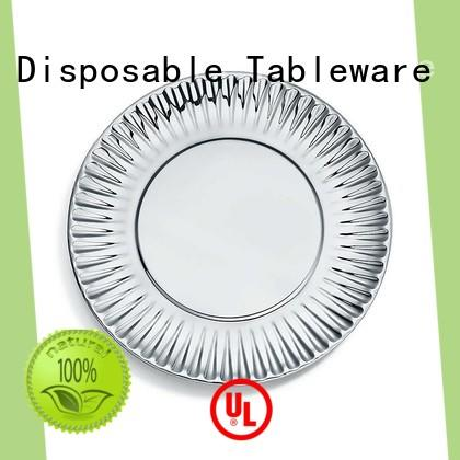 HENGDA Disposable Tableware hotstamping sturdy paper plates free quote for hotel