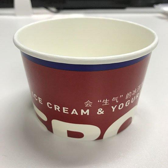 HENGDA Disposable Tableware Brand green ice cream cups wholesale party factory