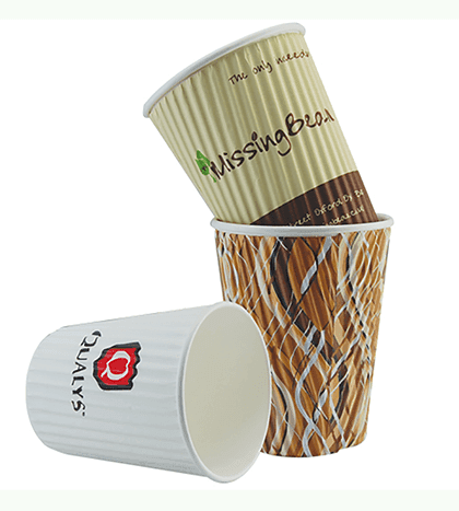 paper printed hot drink paper party cups double HENGDA Disposable Tableware Brand
