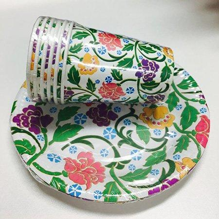 Hot environment-friendly quality paper plates plates HENGDA Disposable Tableware Brand