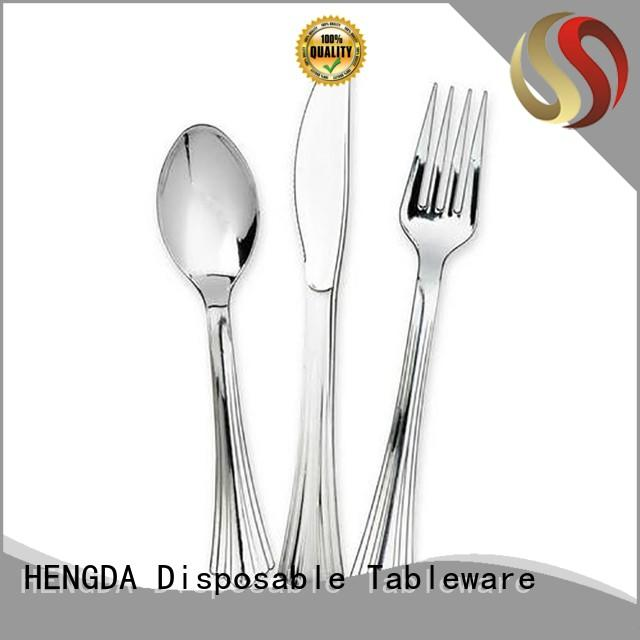 platesbowls wedding party HENGDA Disposable Tableware Brand elegant disposable dinnerware