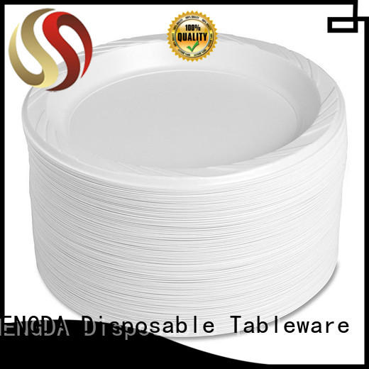 disposable plates and cutlery for parties containers for wholesale in bulk Warranty HENGDA Disposable Tableware
