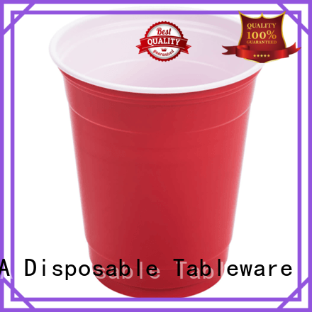 plastic disposable water HENGDA Disposable Tableware Brand plastic plates and cups
