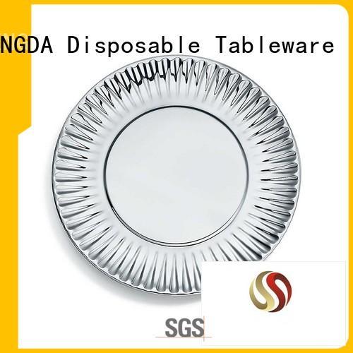 Hot grade quality paper plates in bulk HENGDA Disposable Tableware Brand