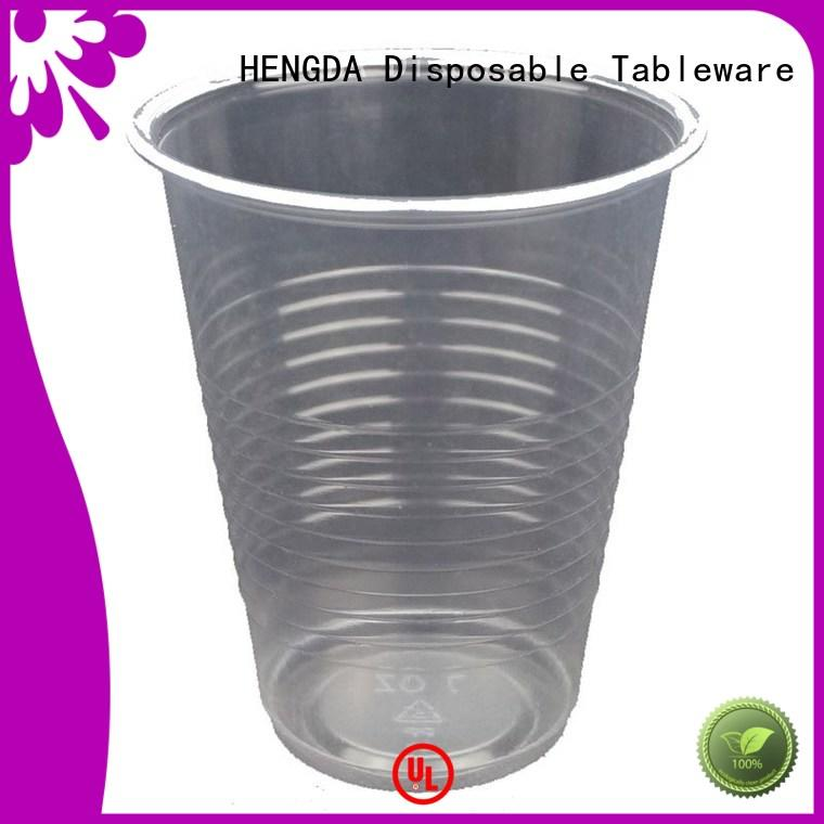 wholesale plates and cups 100% food grade ps HENGDA Disposable Tableware Brand company