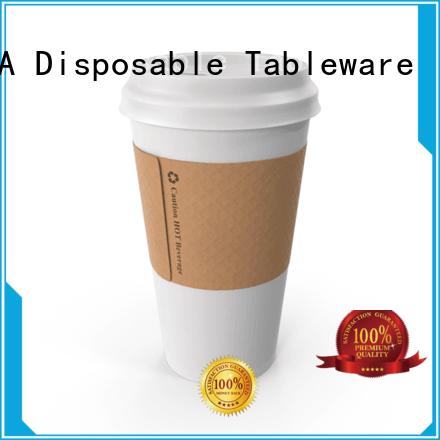HENGDA Disposable Tableware inexpensive paper cups bulk in-green for food