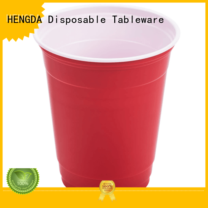 HENGDA Disposable Tableware Brand cups party plastic plates and cups manufacture