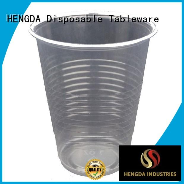 Quality HENGDA Disposable Tableware Brand wholesale plates and cups hot drink
