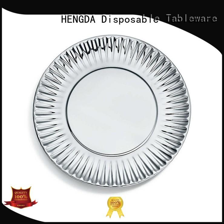 HENGDA Disposable Tableware party disposable paper plates free quote for meeting