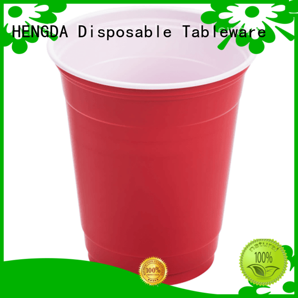 hot drink cold drink plastic plates and cups water HENGDA Disposable Tableware Brand company