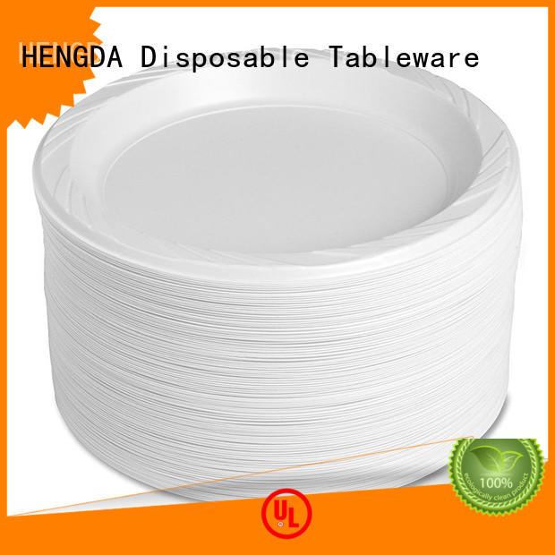 Quality HENGDA Disposable Tableware Brand disposable plates and cutlery for parties for wholesale