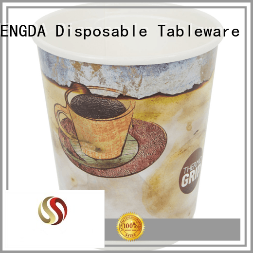 HENGDA Disposable Tableware Brand cup paper party cups Eco-friendly factory