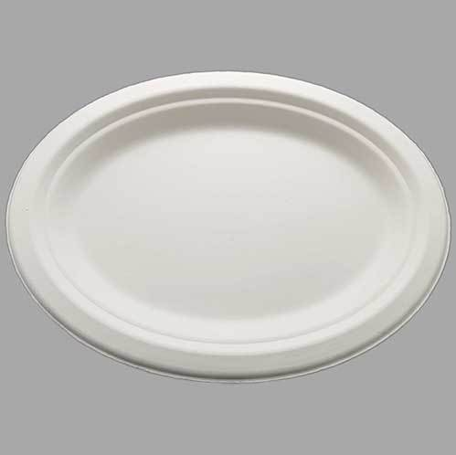 HENGDA Disposable Tableware Brand environment-friendly sugarcane eco friendly disposable plates for wedding natural supplier