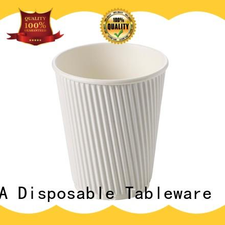 HENGDA Disposable Tableware new-arrival paper drinking cups contain no additives for meeting