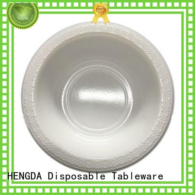 Quality HENGDA Disposable Tableware Brand eco friendly paper plates quality hotstamping