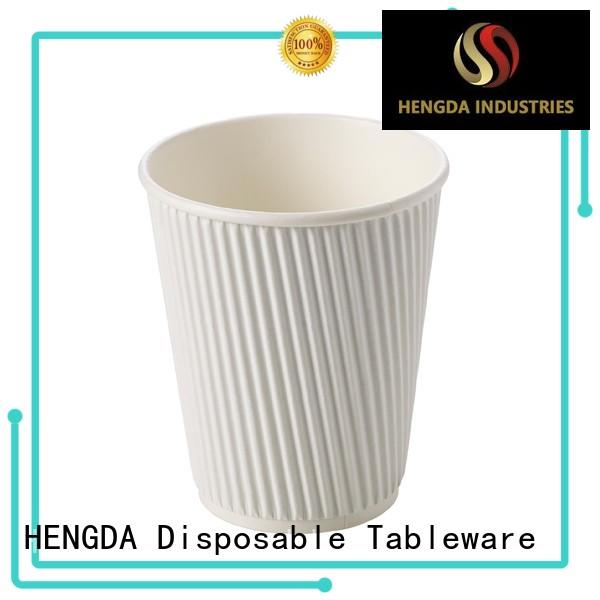 HENGDA Disposable Tableware cold disposable paper cups contain no harmful for hotel