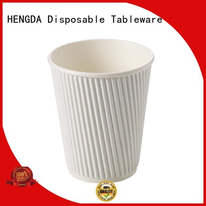 HENGDA Disposable Tableware inexpensive custom disposable cups widely-use for canteen